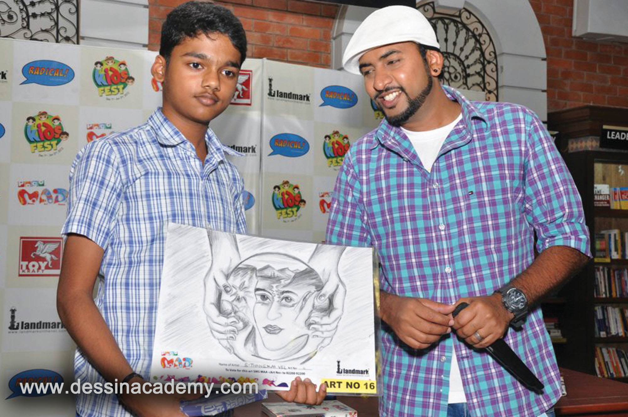 Dessin School of Arts Students Acheivement 5, Time kids Pre-School, oil painting classes for adults in Adyar