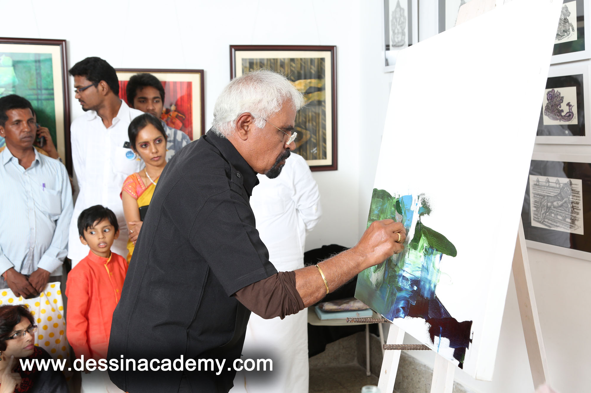 Dessin School of arts Event Gallery 2, oil painting School for adults in AdyarTime kids Pre-School